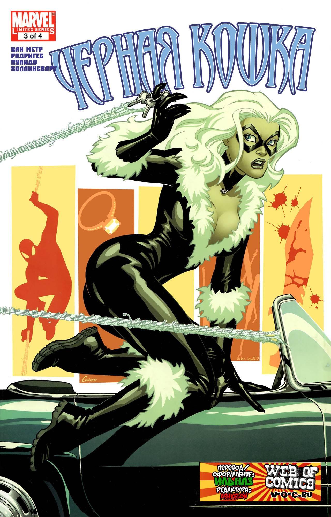 Удивительный Человек-Паук Представляет: Черная Кошка №3 онлайн