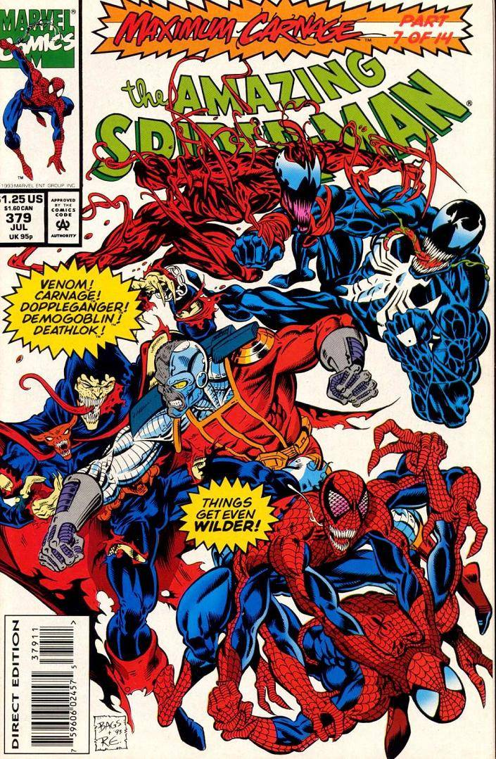 Удивительный Человек-паук №379 онлайн