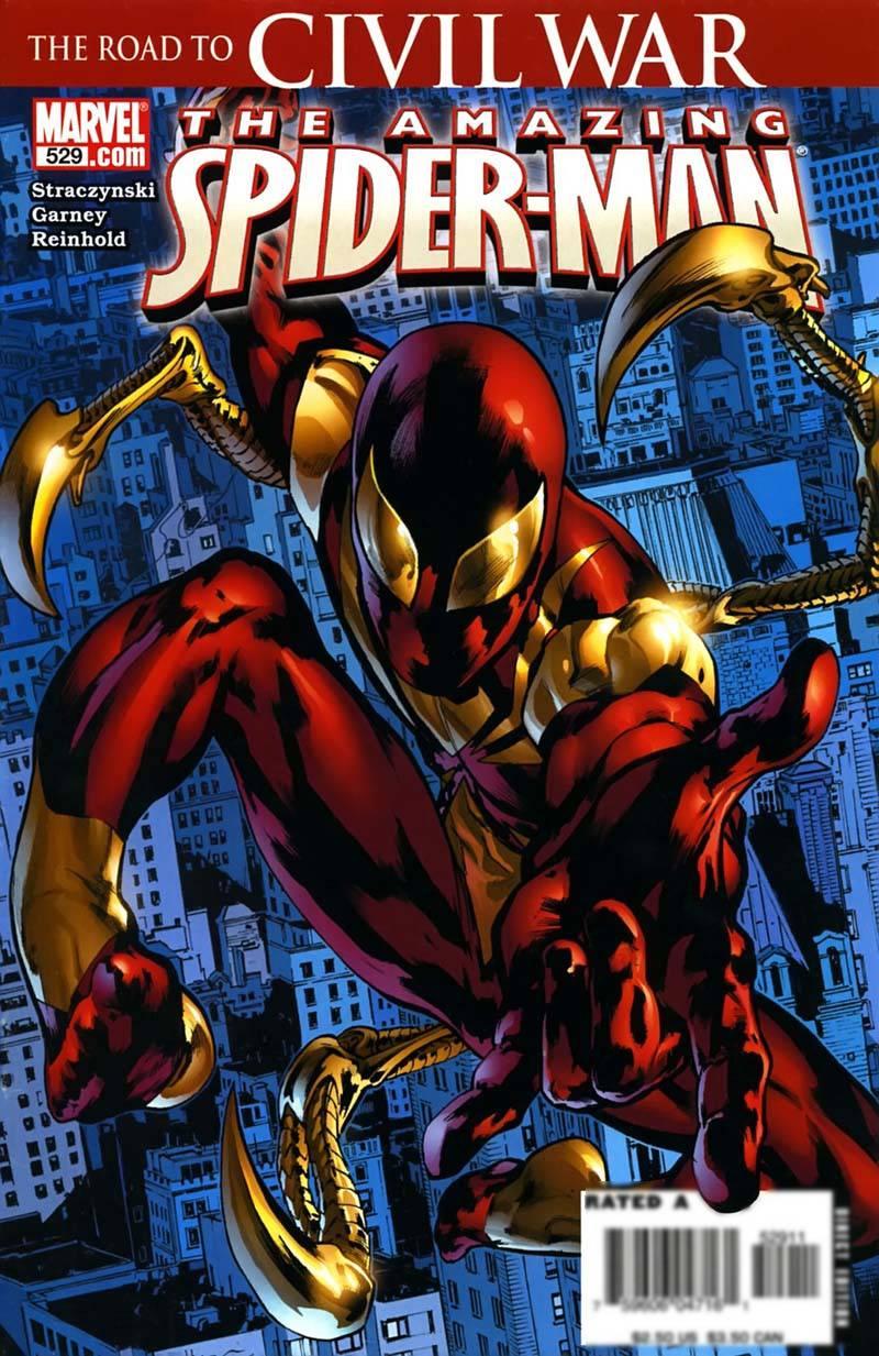Удивительный Человек-паук №529 онлайн