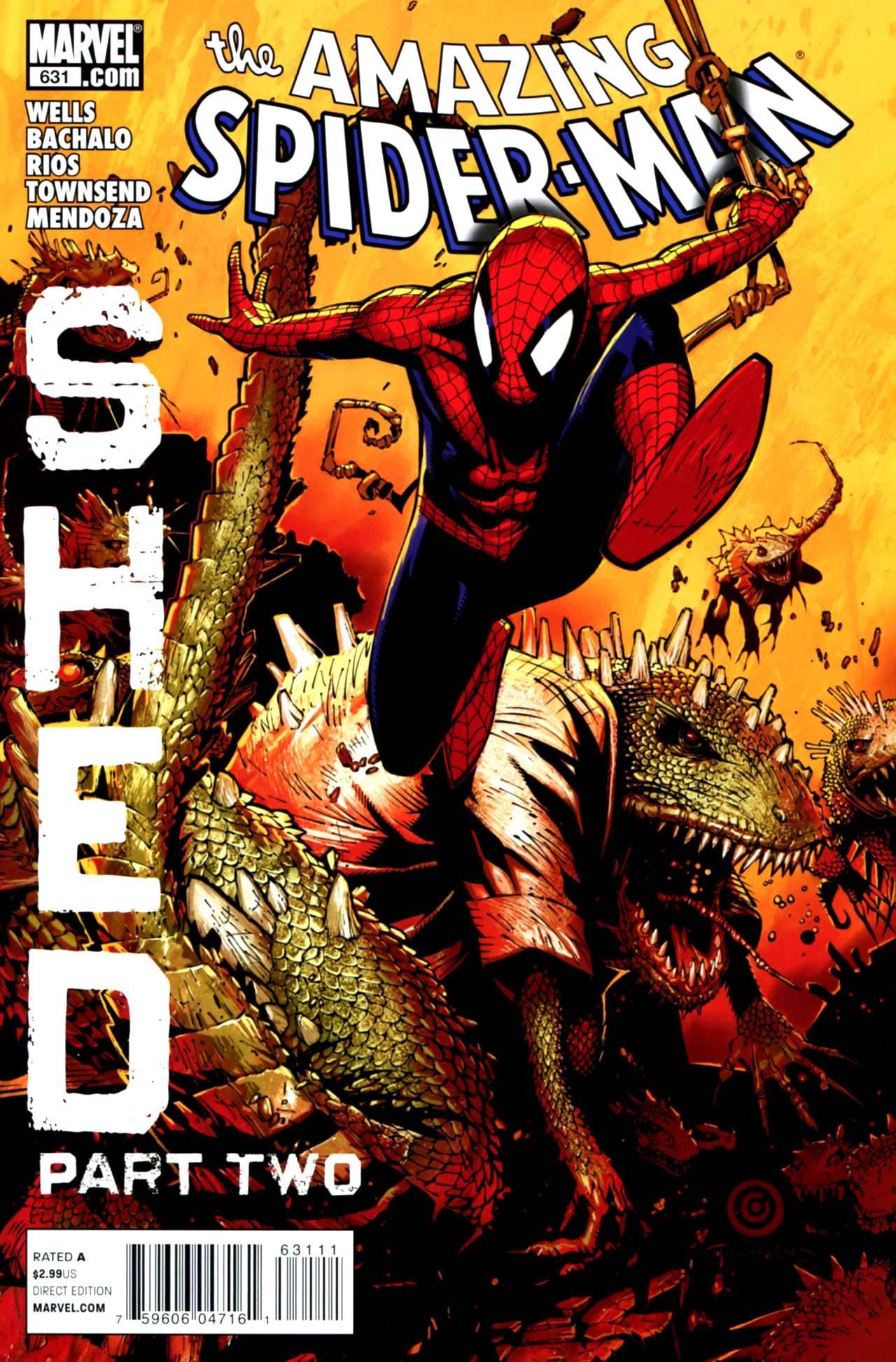 Удивительный Человек-паук №631 онлайн