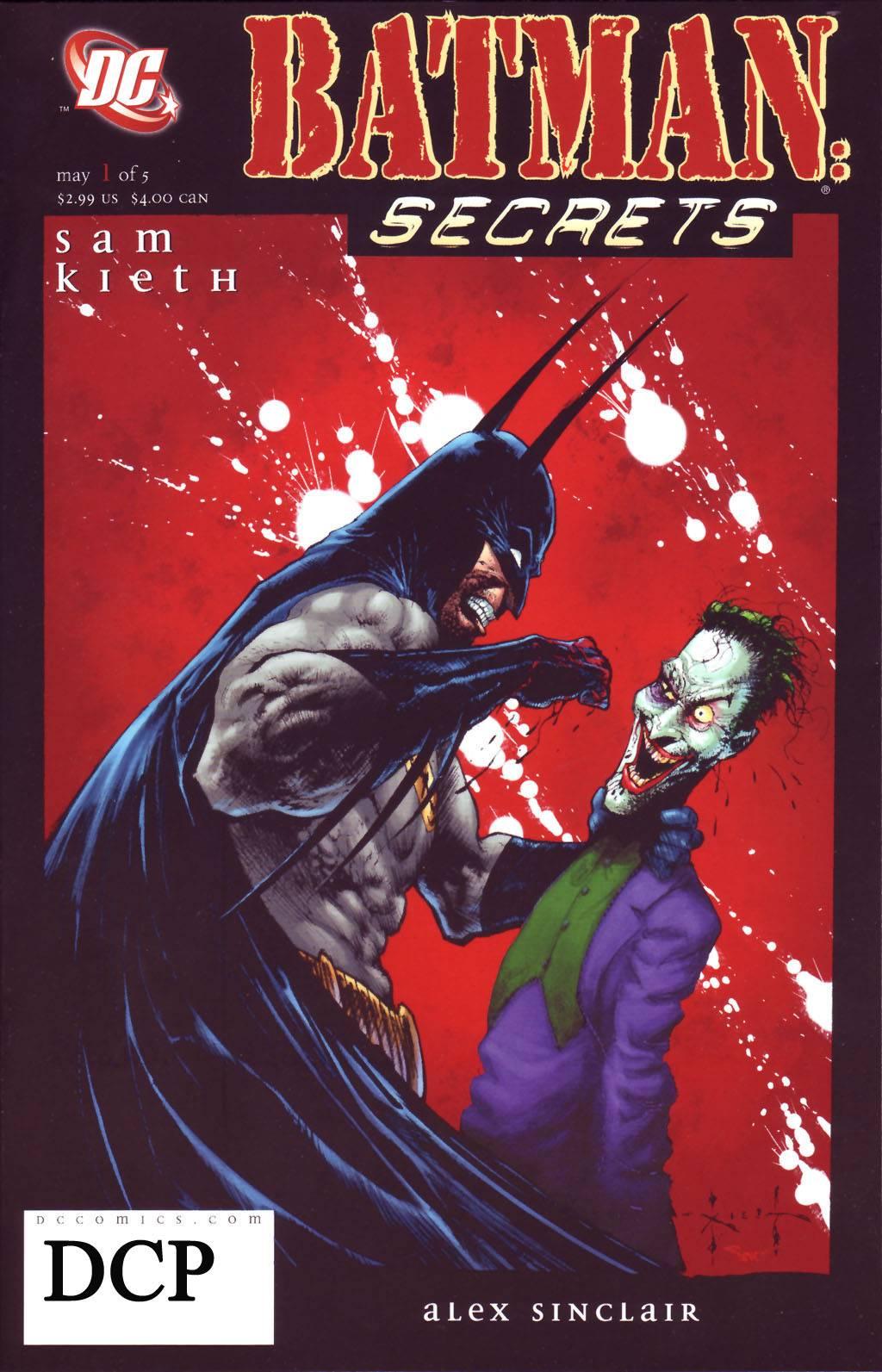 Бэтмен: Секреты №1 онлайн
