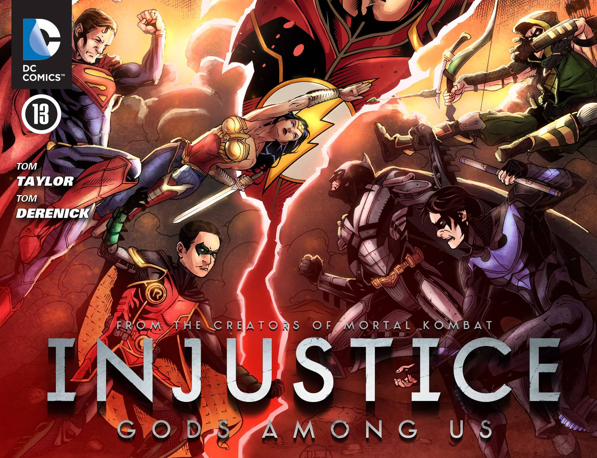 Несправедливость: Боги Среди Нас №13 онлайн