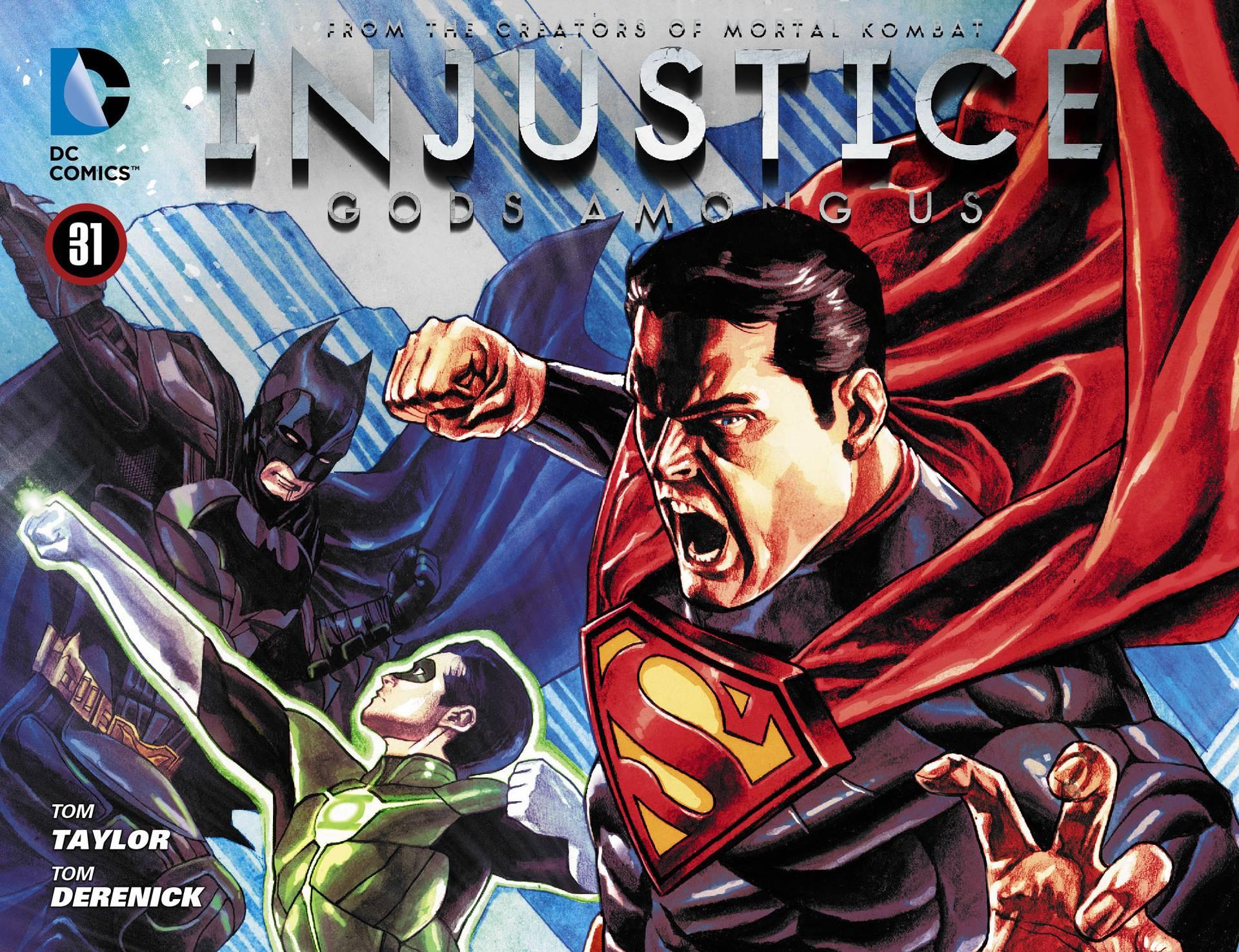 Несправедливость: Боги Среди Нас №32 онлайн