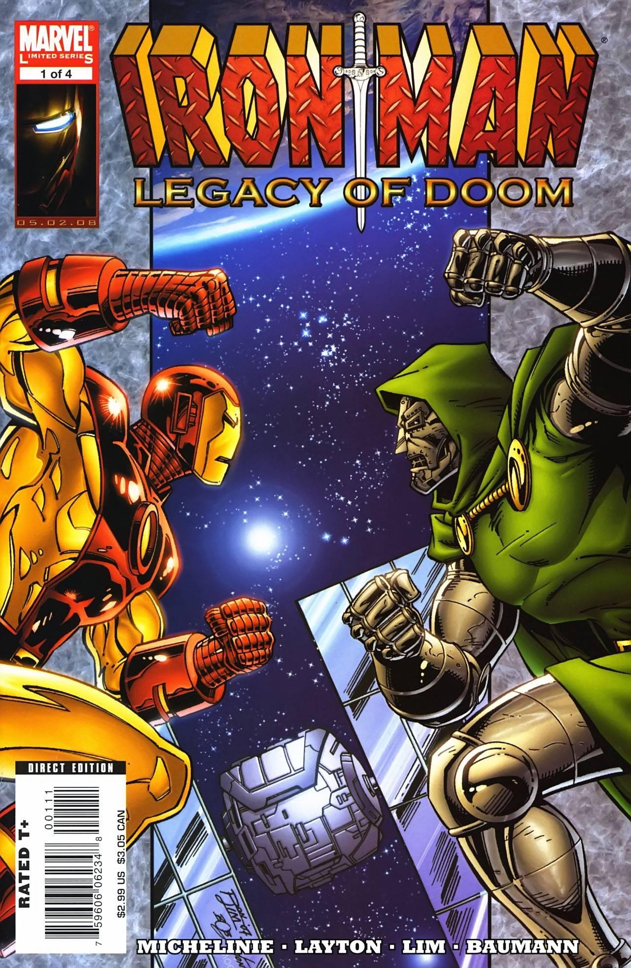 Железный Человек: Наследие Дума №1 онлайн