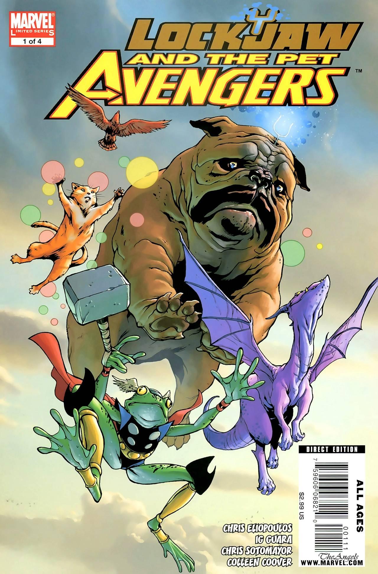 Локхид и Животные Мстители №1 онлайн