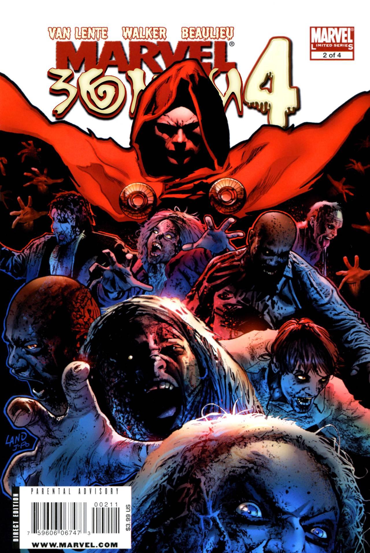 Марвел Зомби 4 №2 онлайн