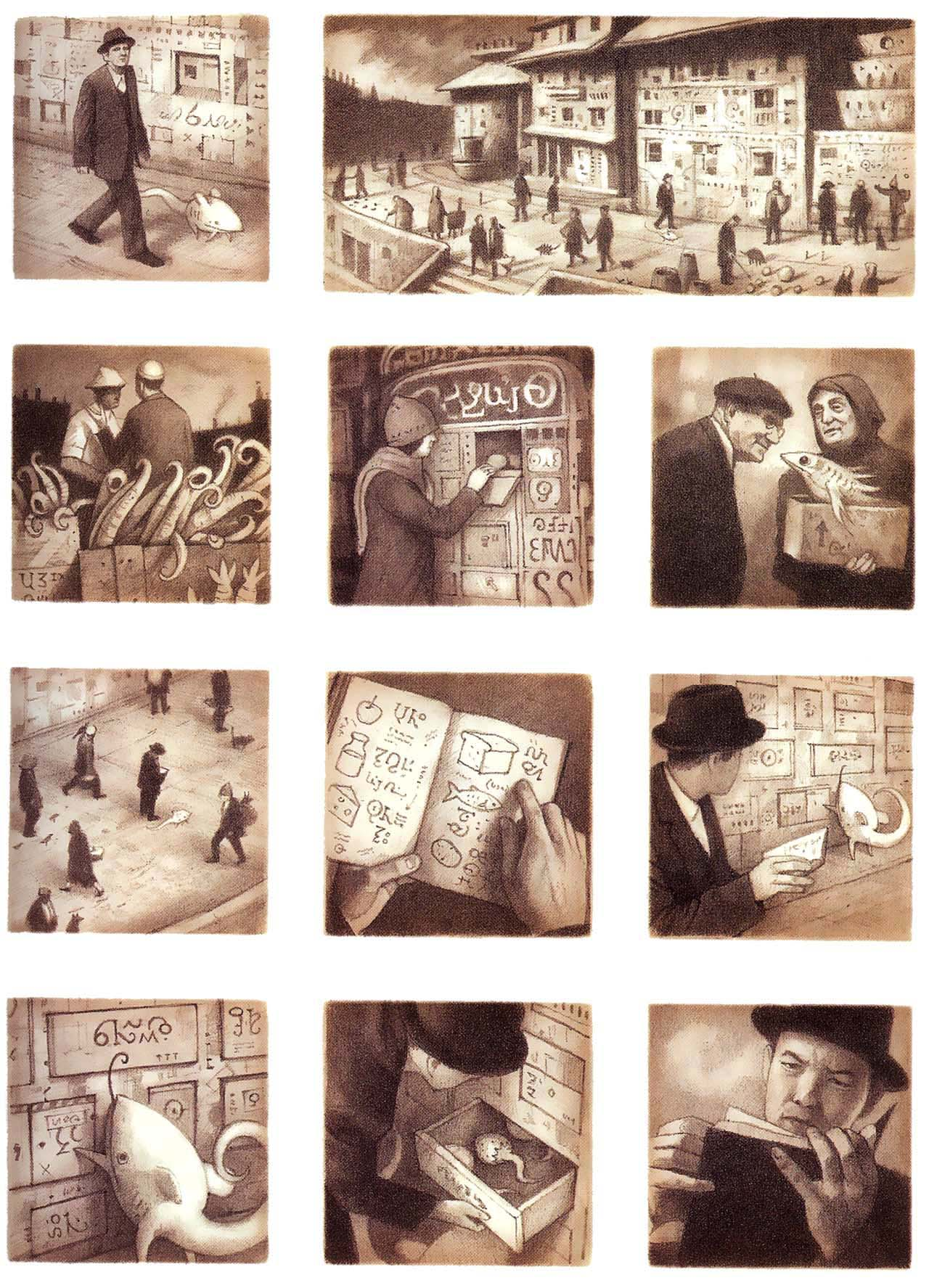 shaun tan the arrival essay Shaun won an academy award for the short film adaptation of the lost thing visual melancholy in shaun tan's the arrival, can be read.