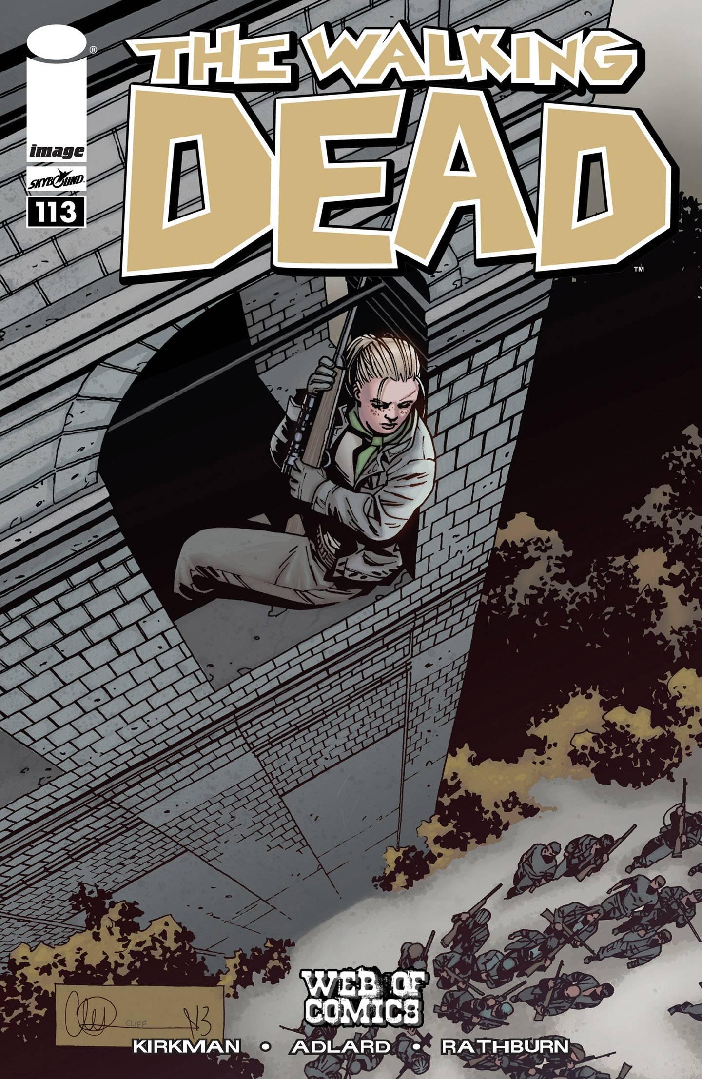 Ходячие мертвецы №113 онлайн