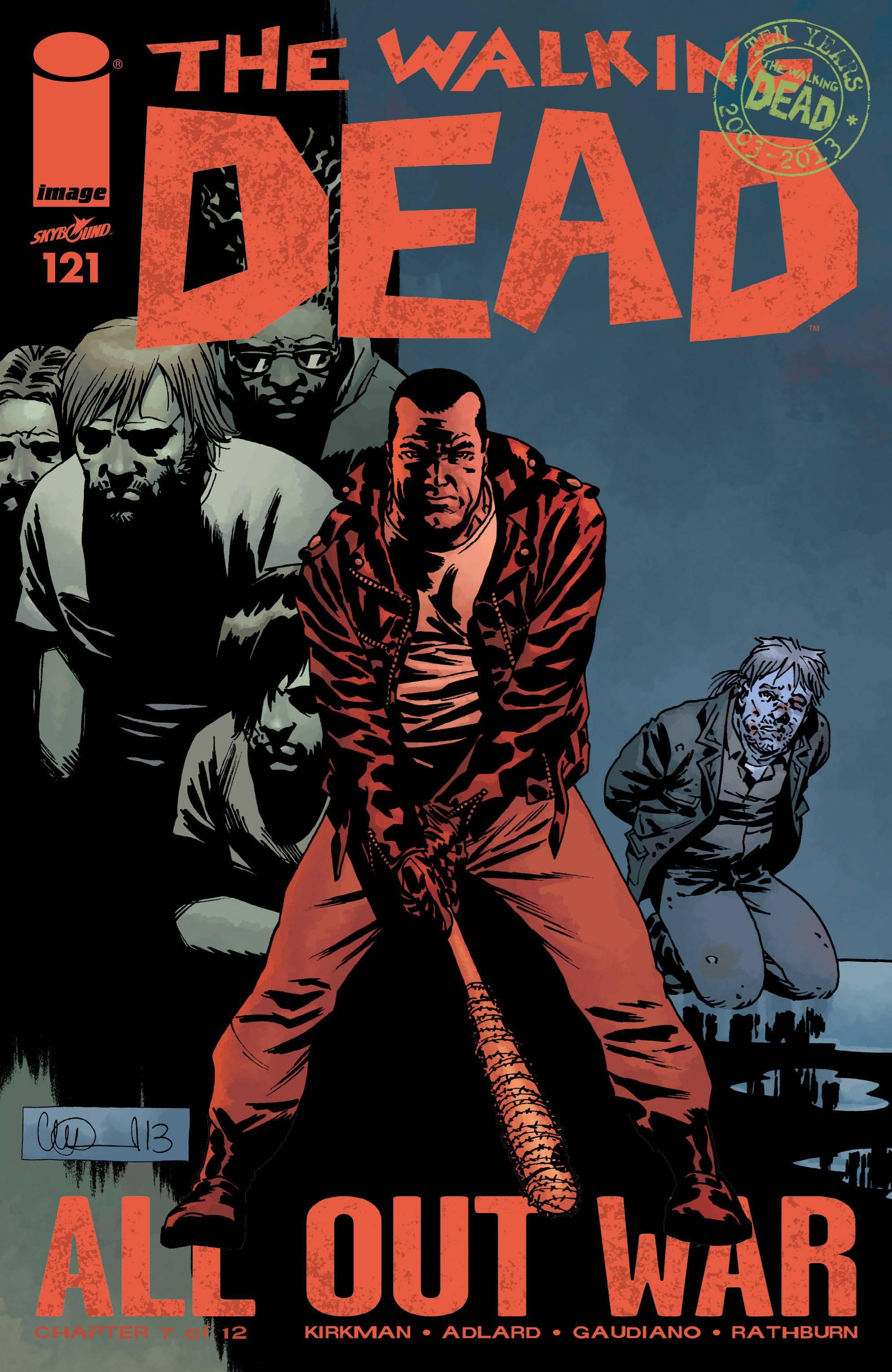 Ходячие мертвецы №121 онлайн