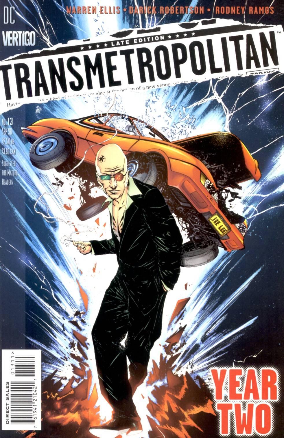 Трансметрополитан №13 онлайн