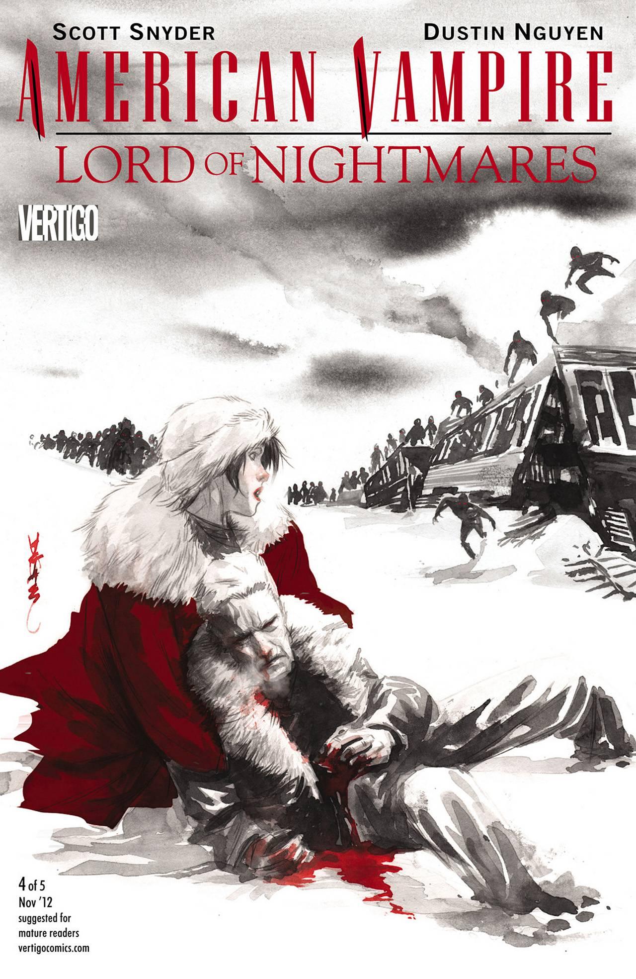 Американский Вампир: Лорд Кошмаров №4 онлайн