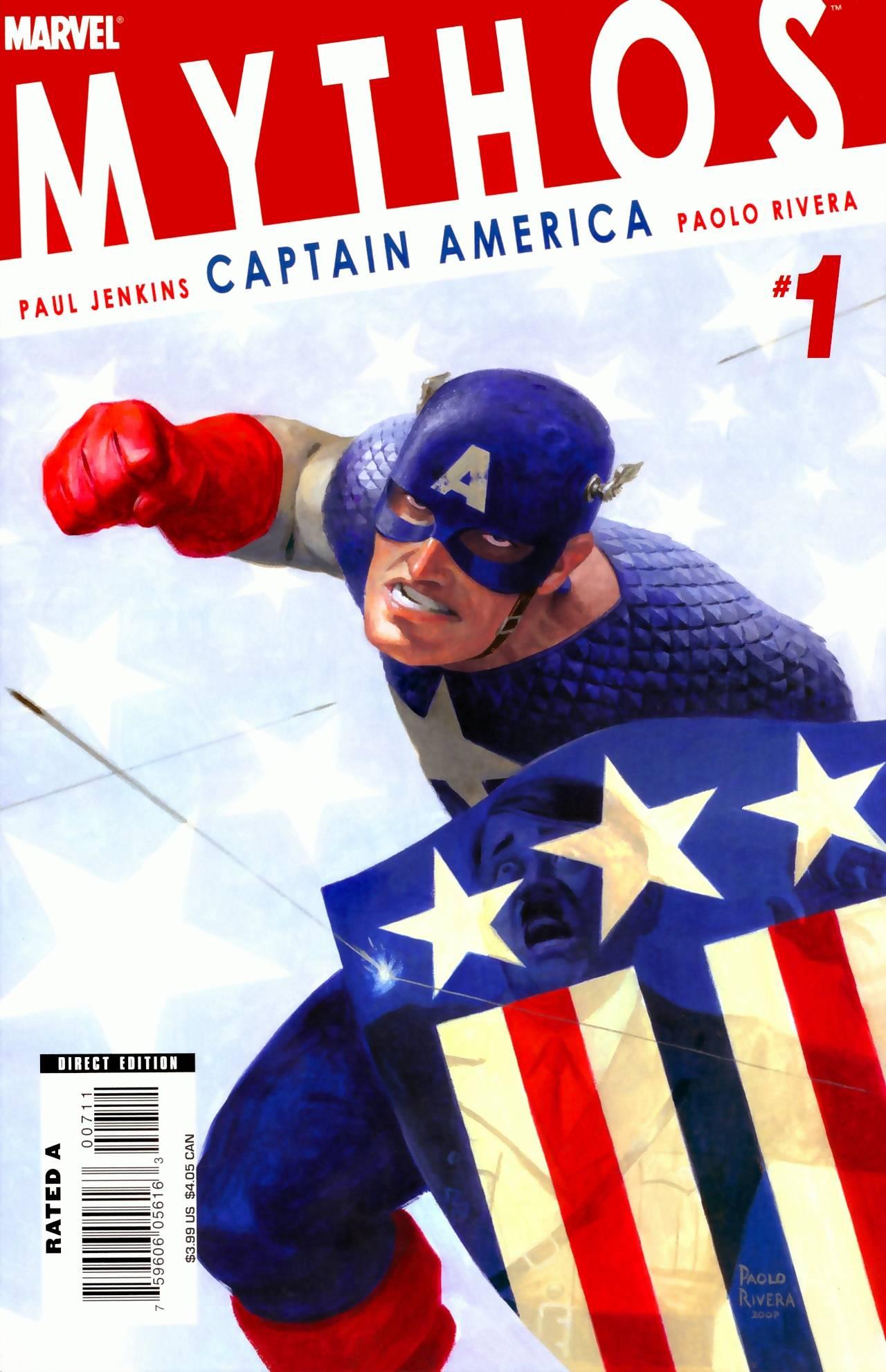 Капитан Америка №1 онлайн