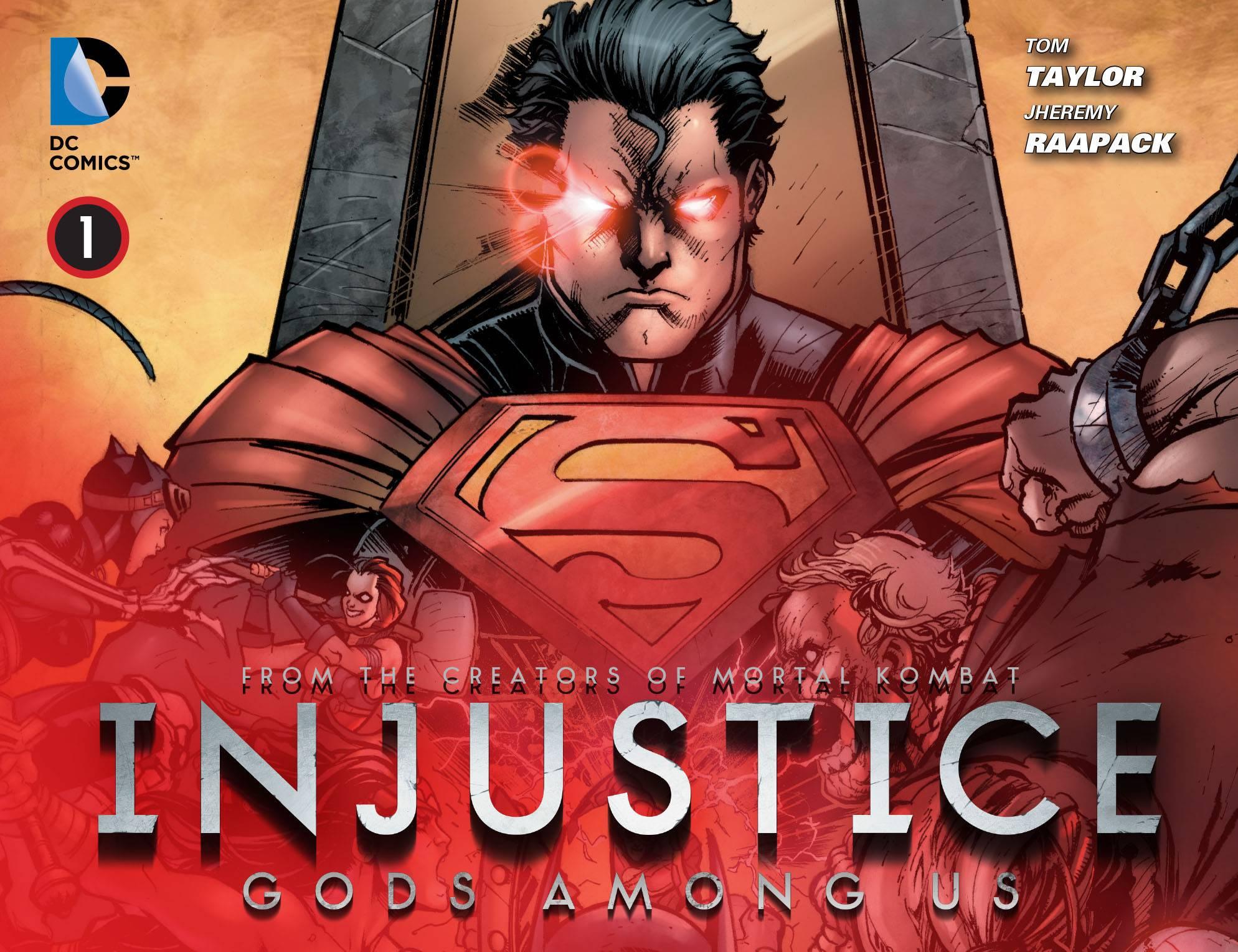 Несправедливость: Боги Среди Нас №1 онлайн