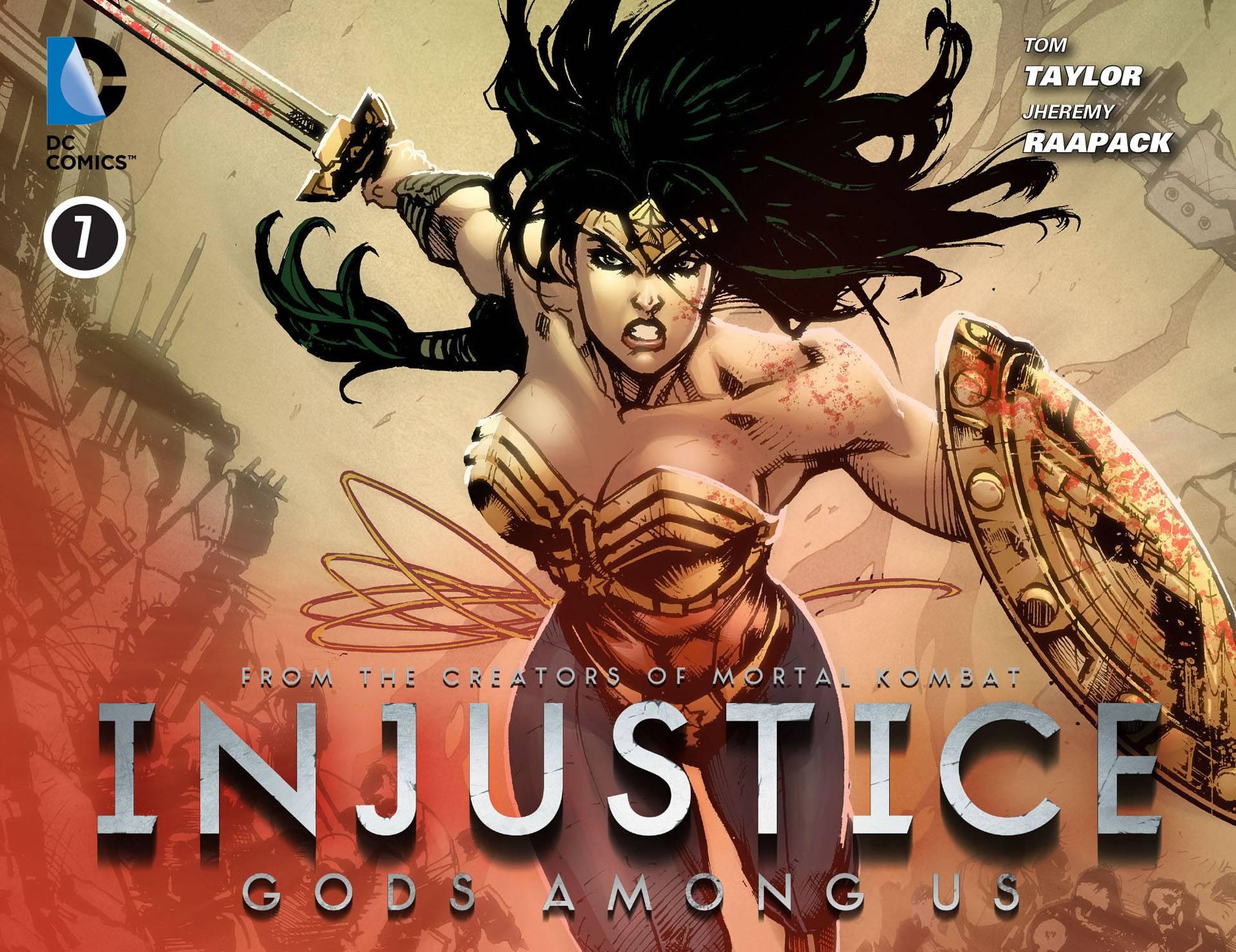 Несправедливость: Боги Среди Нас №8 онлайн