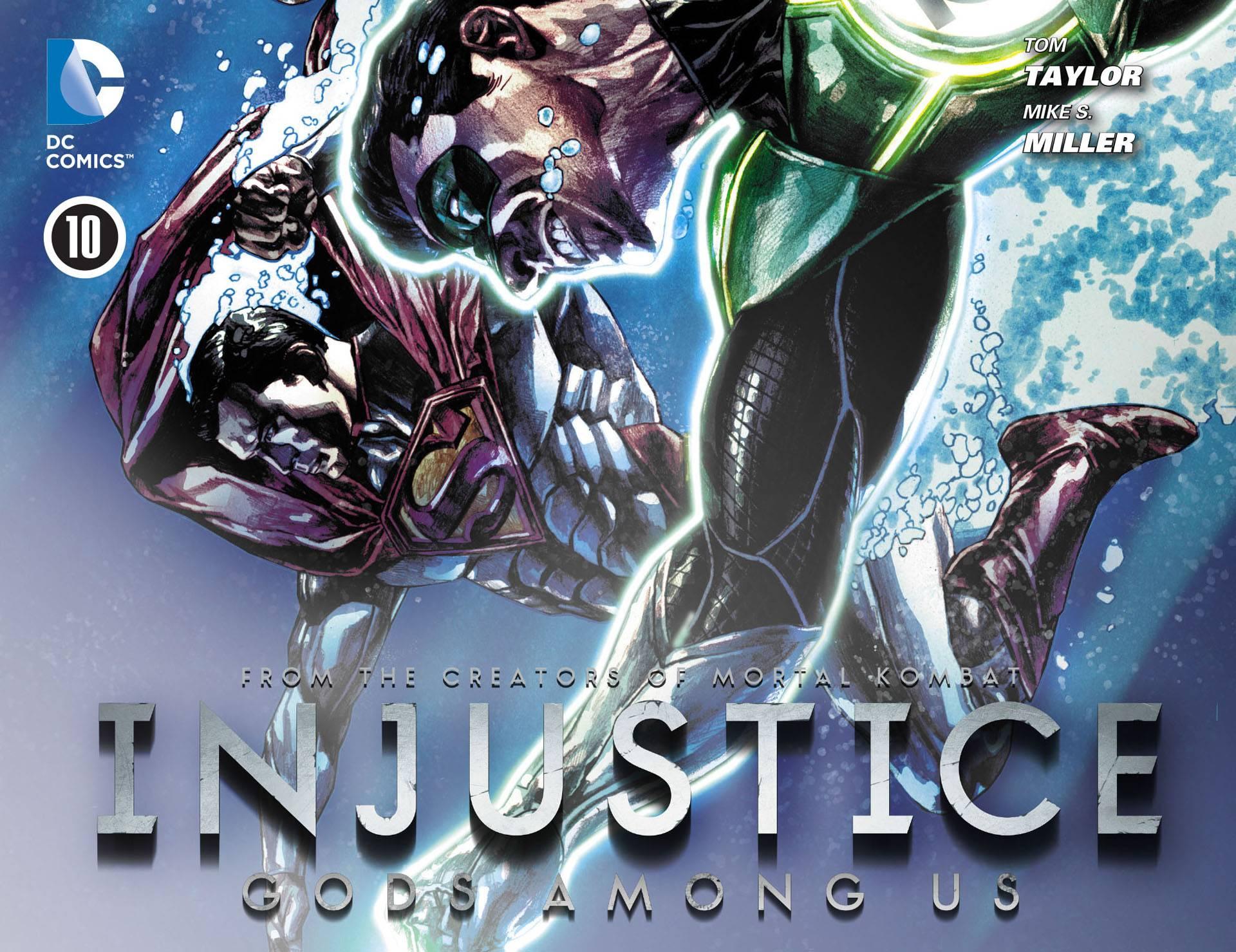 Несправедливость: Боги Среди Нас №10 онлайн