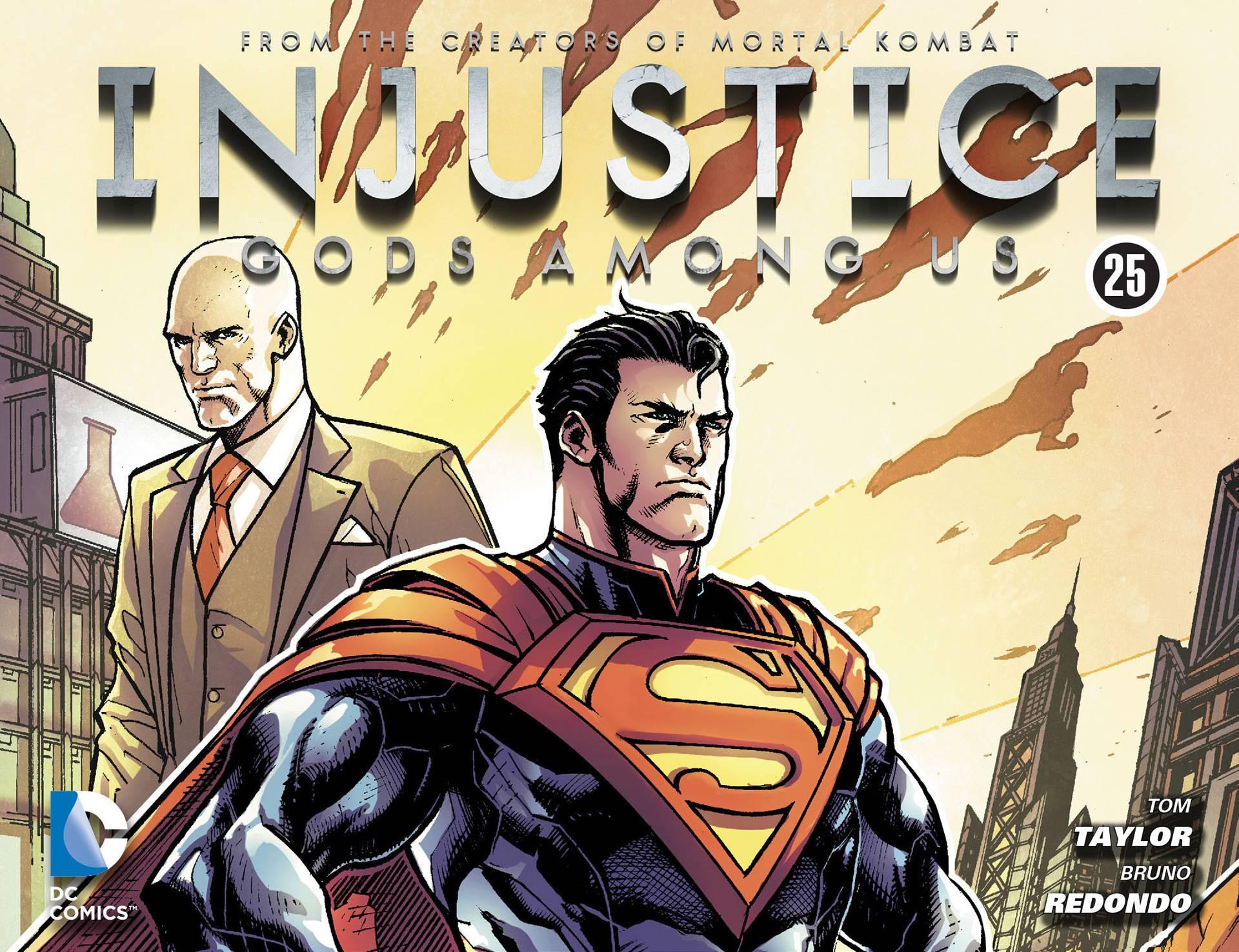 Несправедливость: Боги Среди Нас №25 онлайн