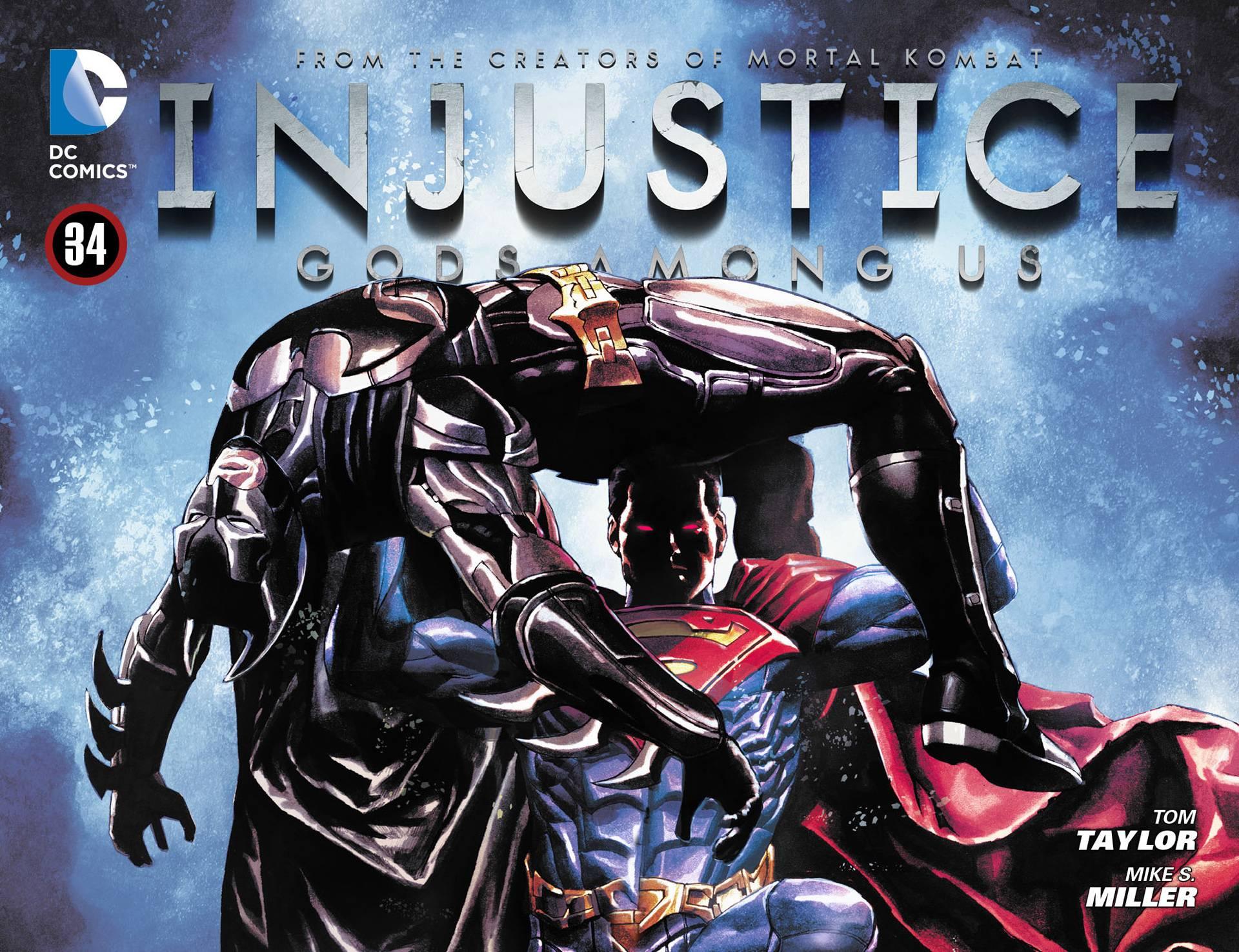 Несправедливость: Боги Среди Нас №35 онлайн