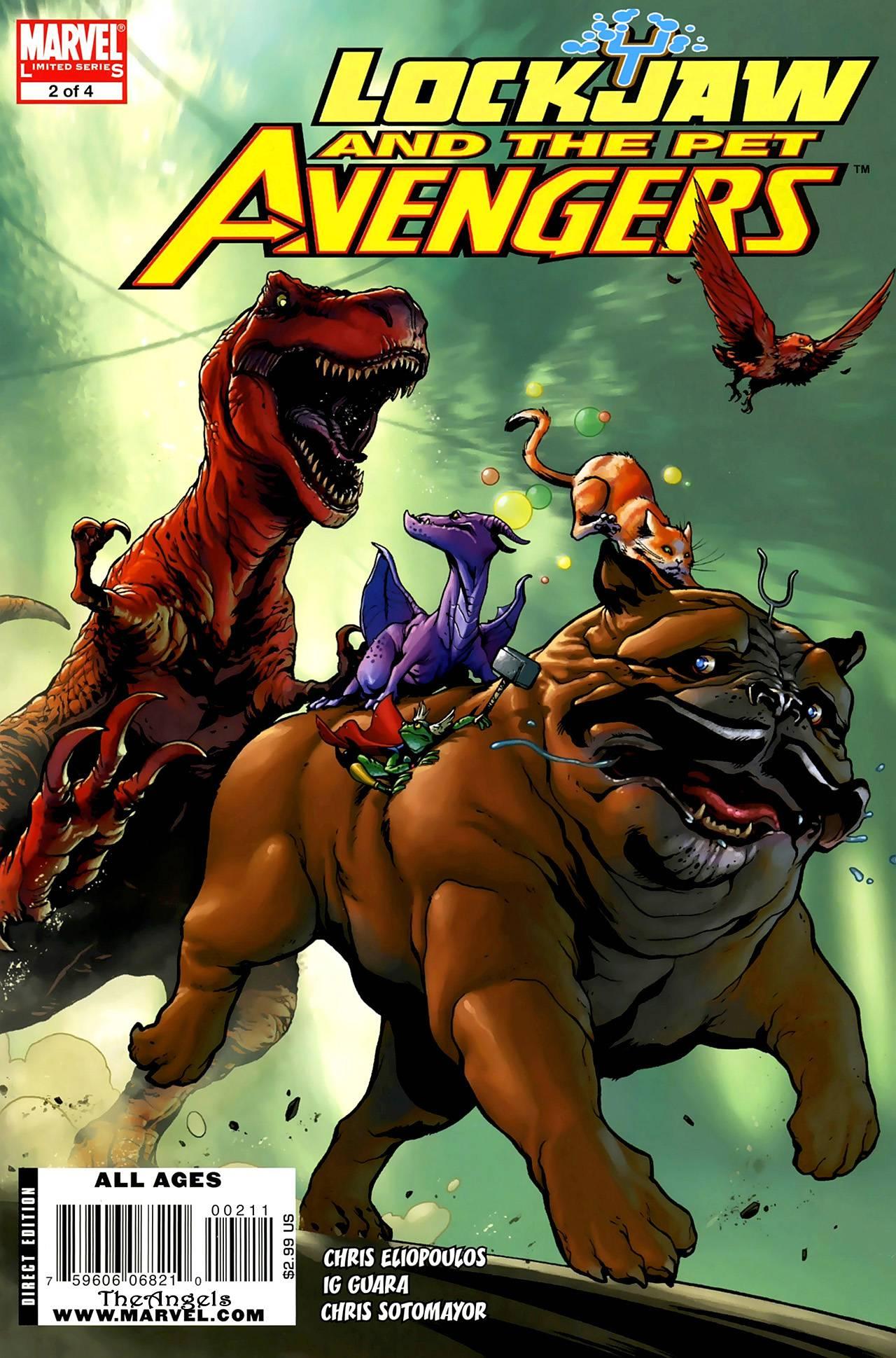 Локхид и Животные Мстители №2 онлайн