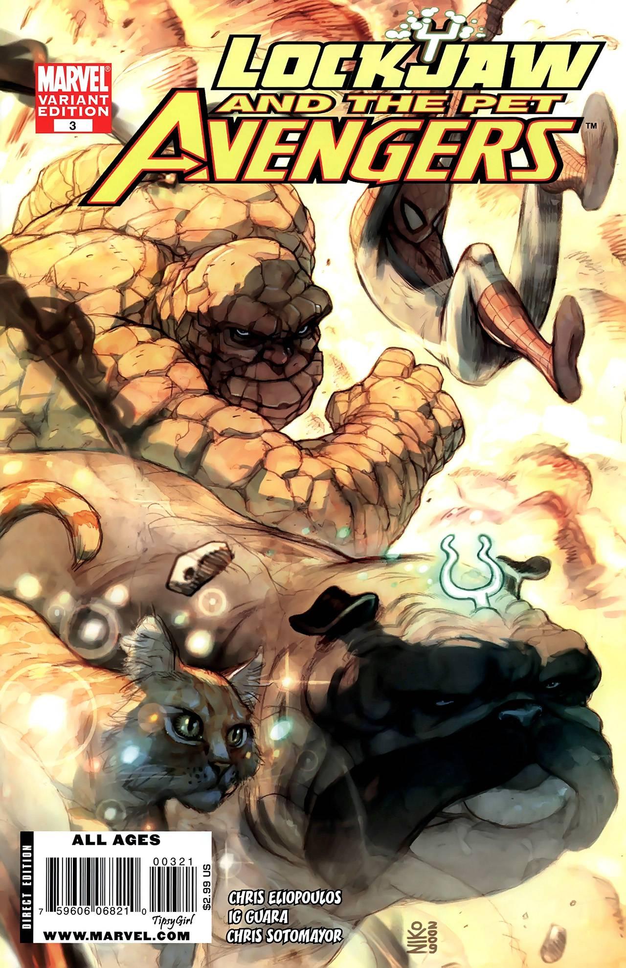 Локхид и Животные Мстители №3 онлайн