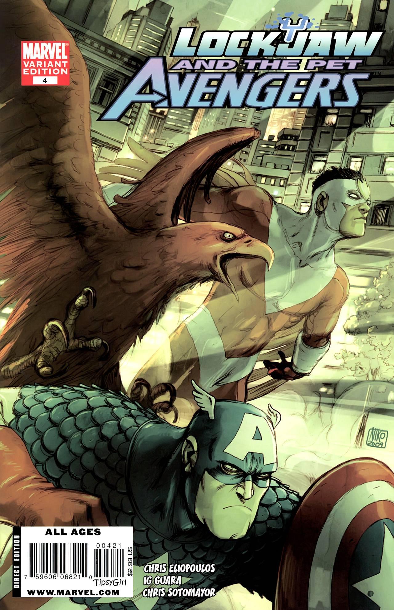 Локхид и Животные Мстители №4 онлайн