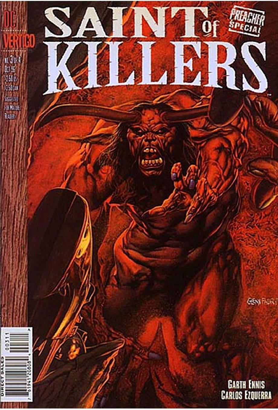Проповедник Спецвыпуск:  Покровитель Убийц №3 онлайн